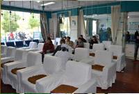 大连开发区现代医院候诊区